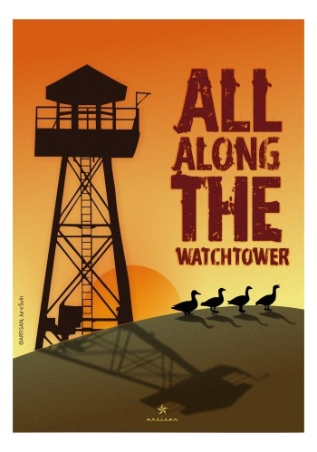 All Along The Watchtower poster. www.artisan.si