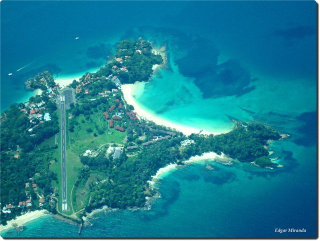 Isla Contadora (Contadora Island)is a Panamanian island on the Pearl Islands archipielago in the Gulf of Panama.    They filmed Survivor Panama in/around the Pearl Islands.