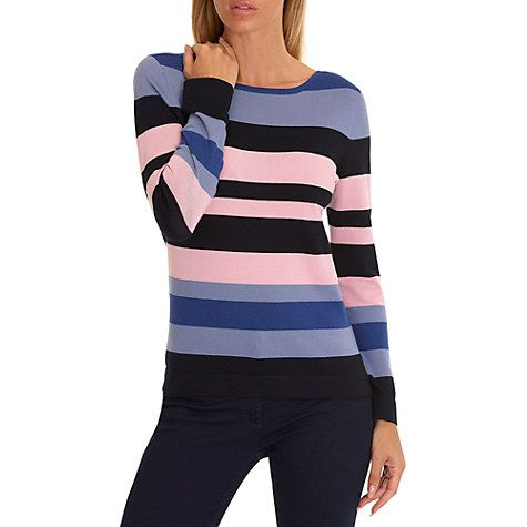 Buy Betty Barclay Stripe Jumper Online at johnlewis.com
