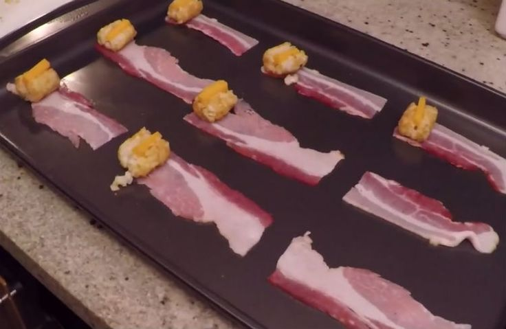 She Wraps Raw Bacon Around A Tater Tot. But It's What She Does To Them Next That Has Me Drooling! - American Overlook Mobile