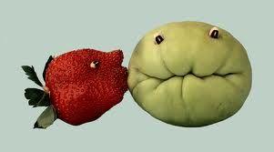 fantasticas imagenes de arte con frutas y verduras - Buscar con Google