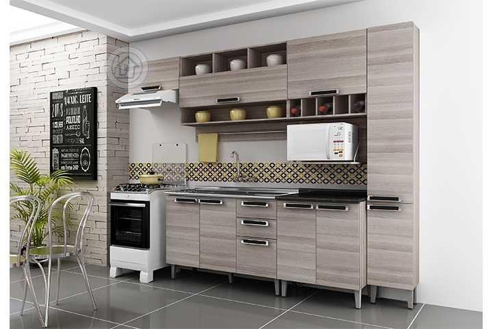 17 melhores ideias sobre Cozinha Completa Itatiaia no Pinterest  Armário de  # Armario De Cozinha Magazine Luiza
