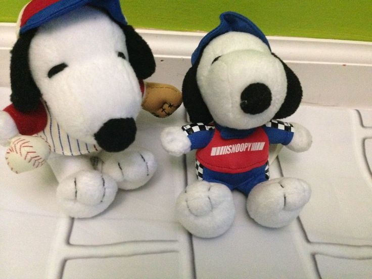Lot 2 Metlife Snoopy Plush Toy    eBay