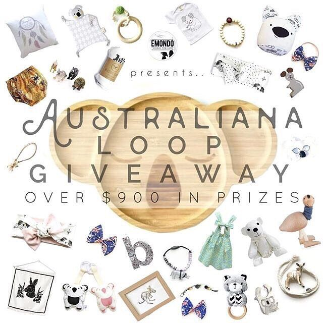 Competition Time Have you entered this amazing Modern Australiana themed giveaway?? Be sure to head to our original post and follow the simple instructions to enter. . . . . . #PugglePost #LoopGiveaway #IGgiveaway #AussieLoop #LoopGiveaways #Winner #Giveaway #Loop #InstaGood #Free #Win #ShopSmall #ShoppingSpree #SmallBusiness #AustraliaMade #AusMade #AustraliaGiveaway #Competition #MumsWithHustle #Prizes #Australiana #AustralianaGiveaway #EmondoKids #Australia #Emondokidsloop…