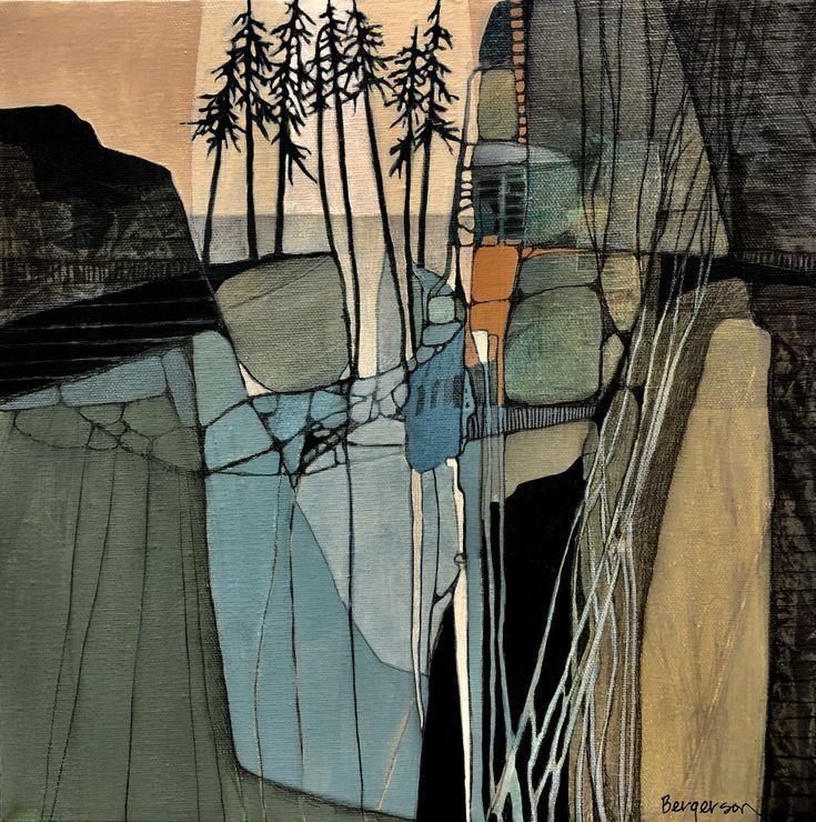 Judith Bergerson / JackPine Studio | Kunst und Inspiration  –  #Bergerson #Inspi… – Mia Maier