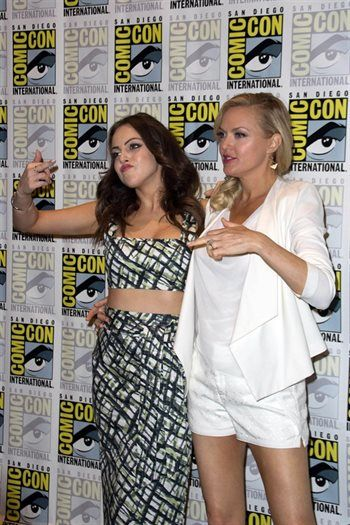 Elizabeth Gillies & Elaine Hendrix  Sex&Drugs&Rock&Roll, Denis Leary's (Rescue Me) ) homage to 80's rock and roll band plays Johnny Rocker, a middle aged rock and roll failure still living in his short lived glory days.  Elizabeth Gillies (Victorious) is trust fund baby, Gigi, who wants to be famous and has the talent to pull it off.  Backed by a solid cast, including John Corbett (Sex and the City), Elaine Hendrix (The Parent Trap), Robert Kelly (NYC 22) and John Ales (The Nutty Professor).