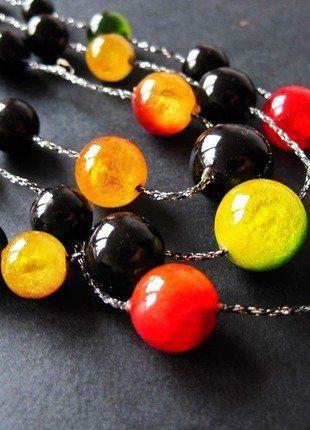 Kaufe meinen Artikel bei #Kleiderkreisel http://www.kleiderkreisel.de/accessoires/ketten-and-anhanger/141645416-dreifachkette-doppelkette-kugelkette