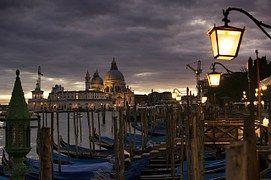 Venecia, Vista De Noche