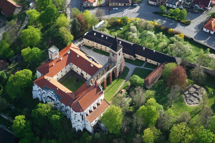 Sázava Monastery - approx. 60 kilometres south-east from Prague. Opened in 1032 A.C. by the Knight Oldrich.