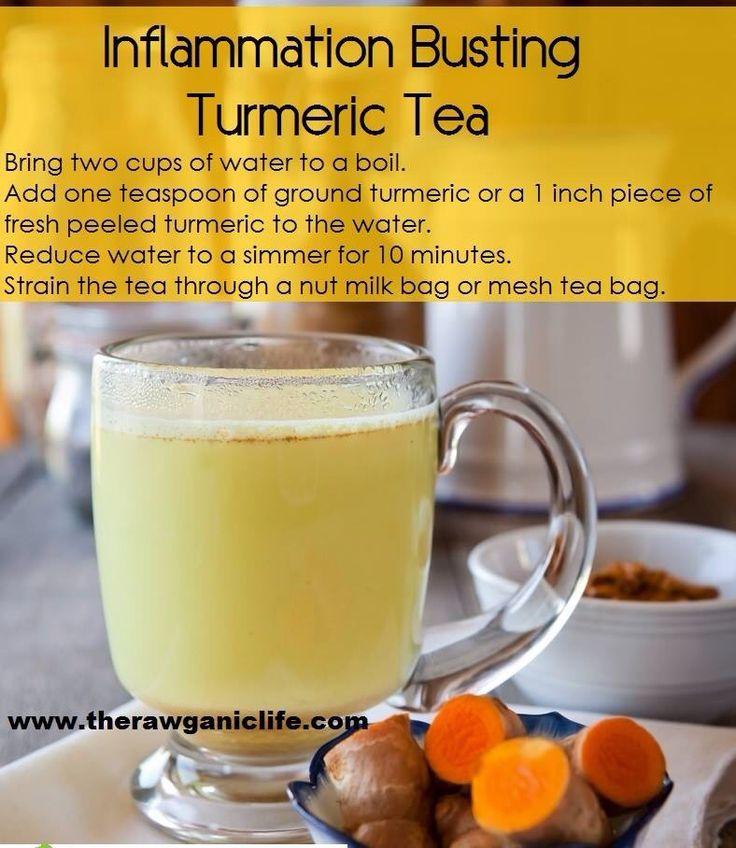 Inflammation busting Turmeric tea