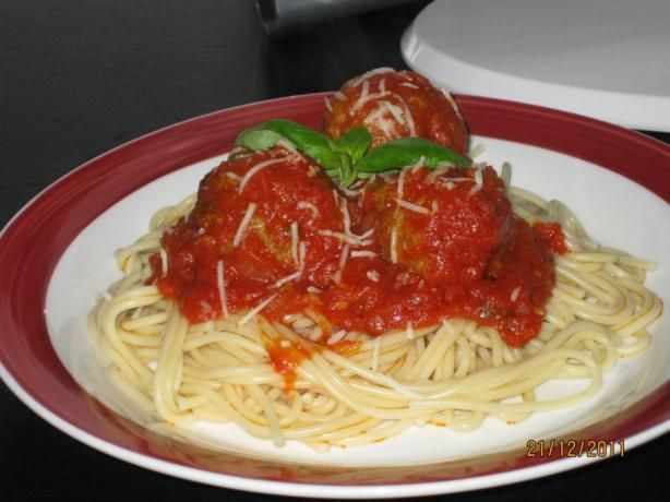 Authentic Italian Tomato Sauce from Food.com:   This is a recipe I got from my father who got it from a little old lady he knew from Italy. I always simmer this sauce with my meatballs (recipe posted). You can also add sausage if you like. This sauce is to die for!!!!Food Com, Sauces Recipe, Tomatoes Sauces, Italian Tomatoes, Meatballs Recipe, Italian Recipe, Italian Sauces, Meatball Recipes, Authentic Italian