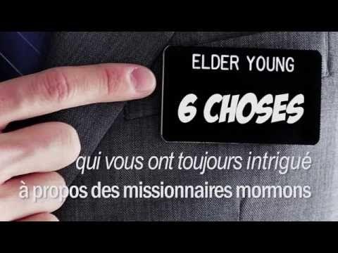 6 choses qui vous intriguent à propos des missionnaires Mormons