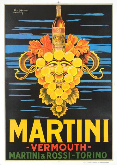 martini vermouth marco. This in a print would match my bathroom