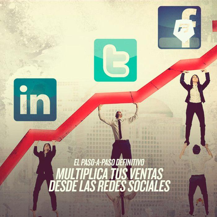 #ecommerce #socialmedia #redessociales ¡EL PASO A PASO DEFINITIVO! Multiplica tus ventas desde las redes sociales >>> http://ecommerce-rebeldesonline.com/aumentar-ventas-con-redes-sociales/