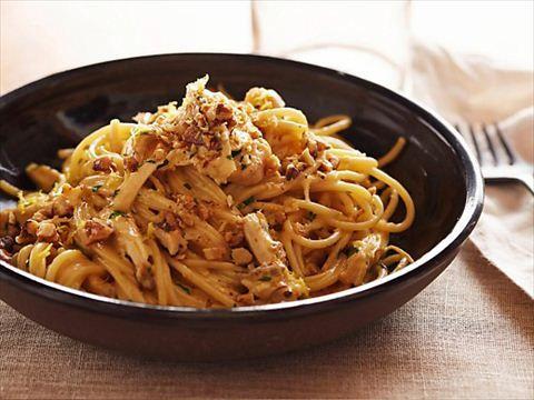 Chicken Pasta Carbonara from CookingChannelTV.com