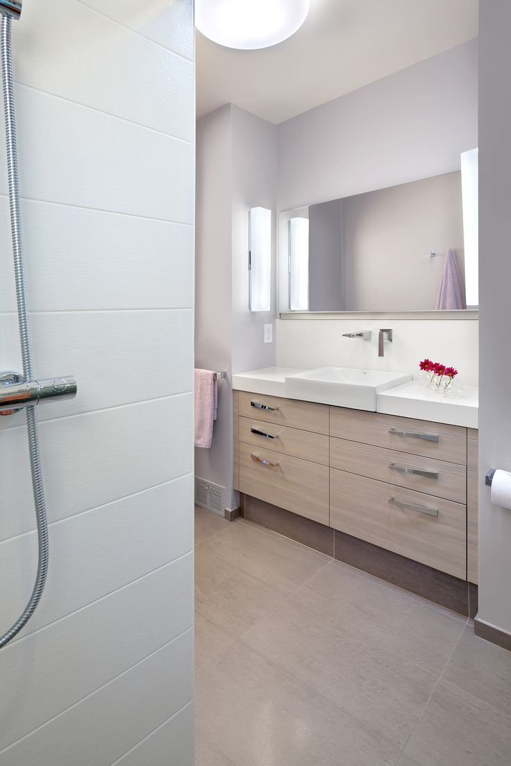 Smart design decisions made the most of this bathroom space  with the vanity  placed inside a niche and a 48 inch lift up medicine cabinet recessed into  a  134 best 2015 NKBA Design Competition Winners Revealed  images on  . National Kitchen And Bath Cabinetry. Home Design Ideas