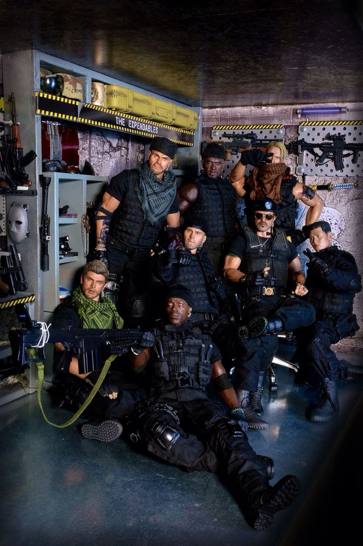 The Expendables: Selfie Soldiers