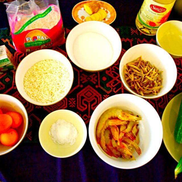材料だけどすでに美味しそう! - 28件のもぐもぐ - マレーシアの代表料理、ナシレマッ! by Discover the world through kitchens!世界の食卓を旅しよう!