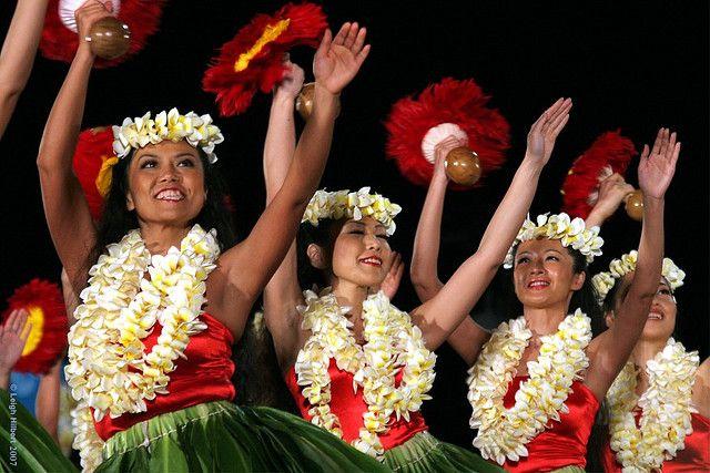 44th Merrie Monarch Hula Festival Hilo Hawaii -- Halau Hula `o Mehanaokala from Tokyo Japan April 11, 2007 Hilo Hawaii – Part 1 of 3