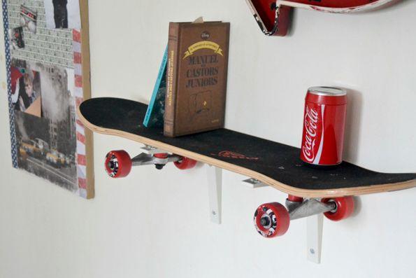 Étagère Skate board