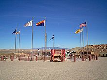 Four Corners - where Utah, New Mexico, Arizona & Colorado meet