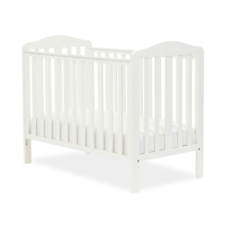 Mothercare Darlington Dropside Cot - White
