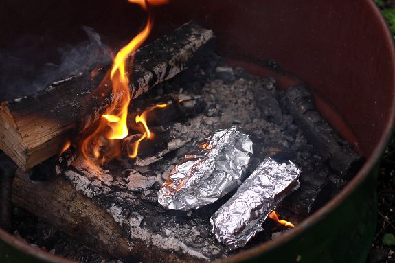Say no to hot dogs - 3 real food campfire meals: Campfire Meals, Campfire Recipes, Beef Stew, Camping Food, Campfire Cooking, Campfires, Campfire Burritos, Camping Recipes, Camping Cooking