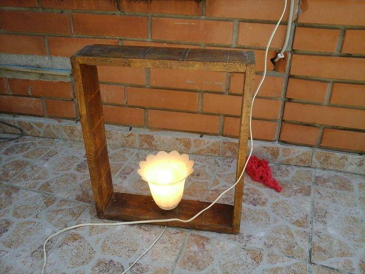 creative and unique pallet lamp antique light decor 101 pallet ideas antique unique pallet ideas