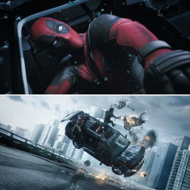 #deadpoolmovie has insane opening sequence, and it's an NVIDIA-powered #GPU  rendering. Blur Studio created the action scene with @HP Z840 workstations running #NVIDIA Quadro M6000 GPUs. @20thcenturyfox #deadpool