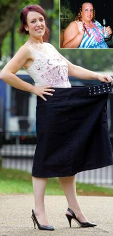 (Slimming World)- Melissa Harrison has lost an amazing 9st 1½ lbs (127.5lbs) with Slimming World.