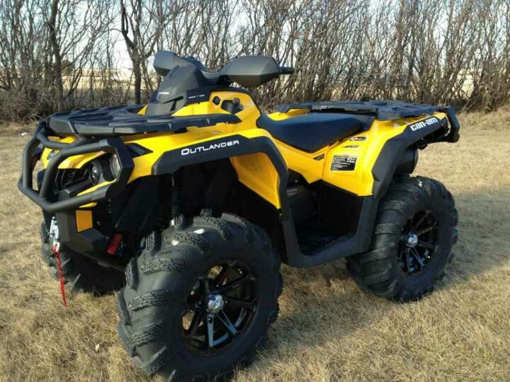 2012 can-am outlander 800