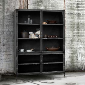 Muubs Iron Glass Cabinet 185