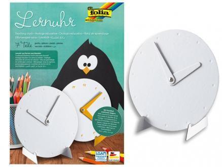 Lernuhr zum Selbstgestalten Mit dieser Lernuhr können sich Ihre Schüler beim Spaß am Malen und Basteln gleichzeitig dem Lernen der Uhr nähern.
