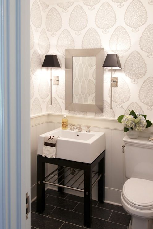 Love the floor, perfect for a powder room