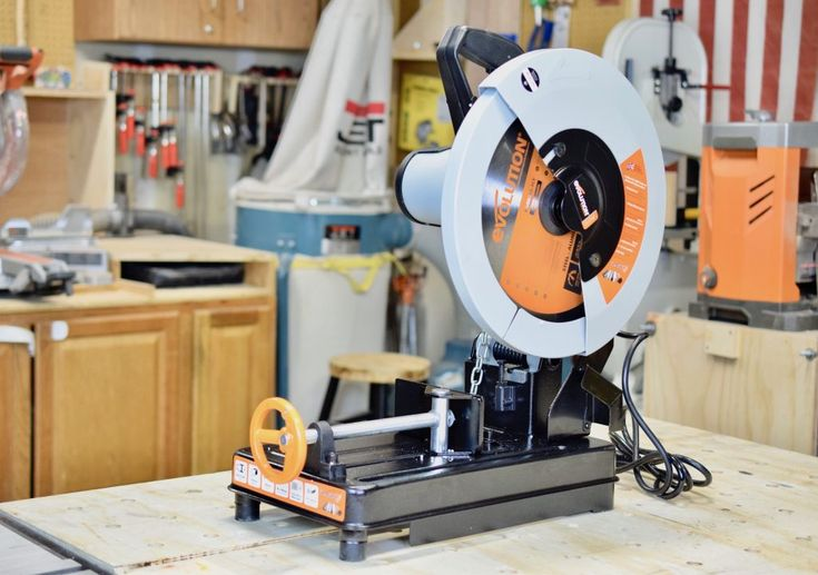Not all Cut-off/Chop saws are created equal. I've been using a basic chop saw from Harbor Freight with a Diablo abrasive wheel and I must say, that thing does not pick up its slack. Here's what I mean: First, it make a bulky cut, which makes it REALLY hard to do precision cuts that are within 1/16th of an inch variable, if even that. 2) Once you make that cut, the amount of melted steel that needs to be grinded off for the cut is time consuming.