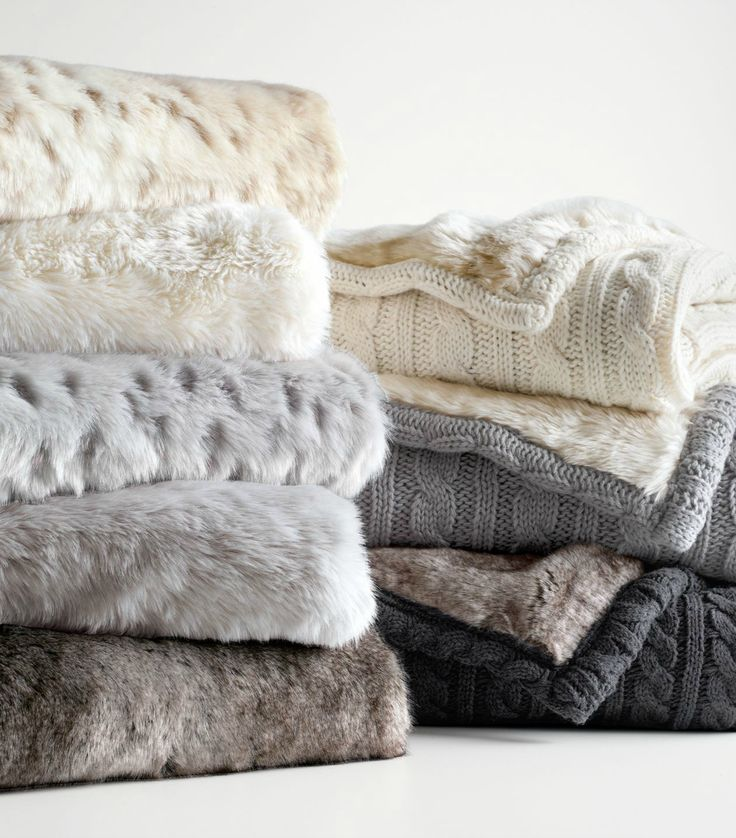 Luxe faux fur stroller blanket. Wrap your littlest one in the coziest embrace imaginable.