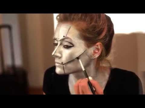 Disfraces caseros y fáciles para carnaval. DIY | loinadecuado- Maquillaje robot