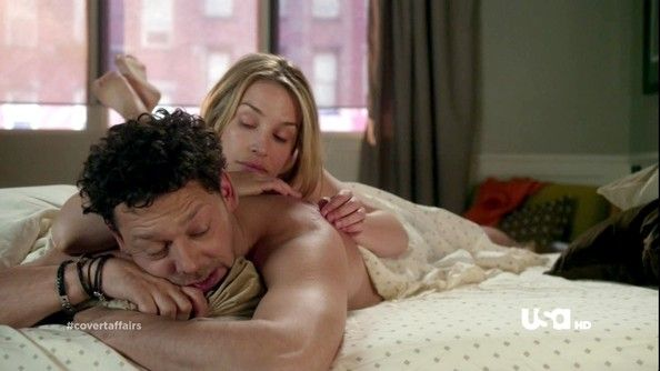 richard coyle & piper perabo Covert Affairs
