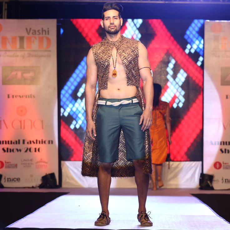 Shahnawaz Alam walked the ramp for IVANA 2016