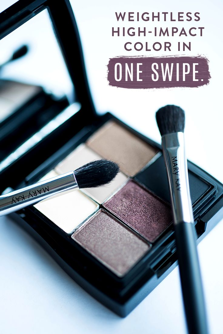 Want to create an updated smoky eye makeup look? Try adding in new colors like Mary Kay® Mineral Eye Colors in Crystalline, Moonstone, Hazelnut, Rosegold, Truffle, and Coal! These feature a long-lasting, fade-resistant formula that delivers high-impact color with one swipe. | Mary Kay
