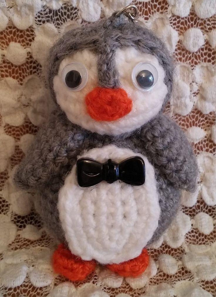 Mr Pinguino. Amigurumi. Uncinetto. Crochet.