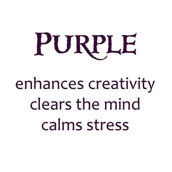 the meaning of the color purple #purple
