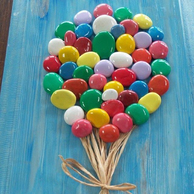 "38 Likes, 6 Comments - demet Cobanoglu (@tasilesanat) on Instagram: ""Şeker balonlarım"""