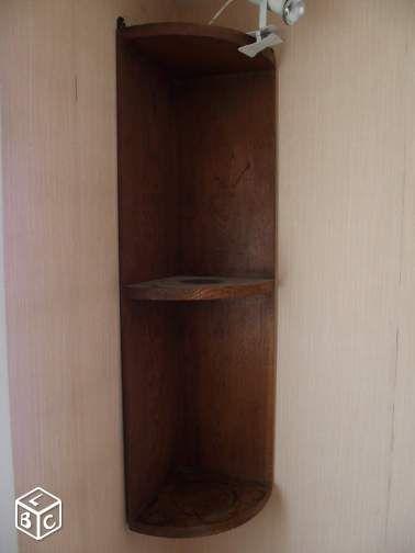 Lots de 4 étagères en bois