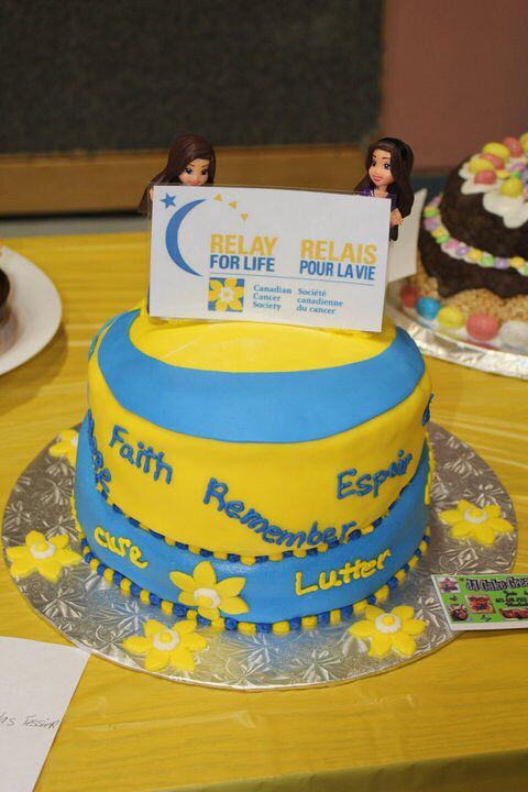 Relay For Life Cake
