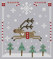 Christmas Cross Stitch 17 by Theflossbox on Etsy, $2.00