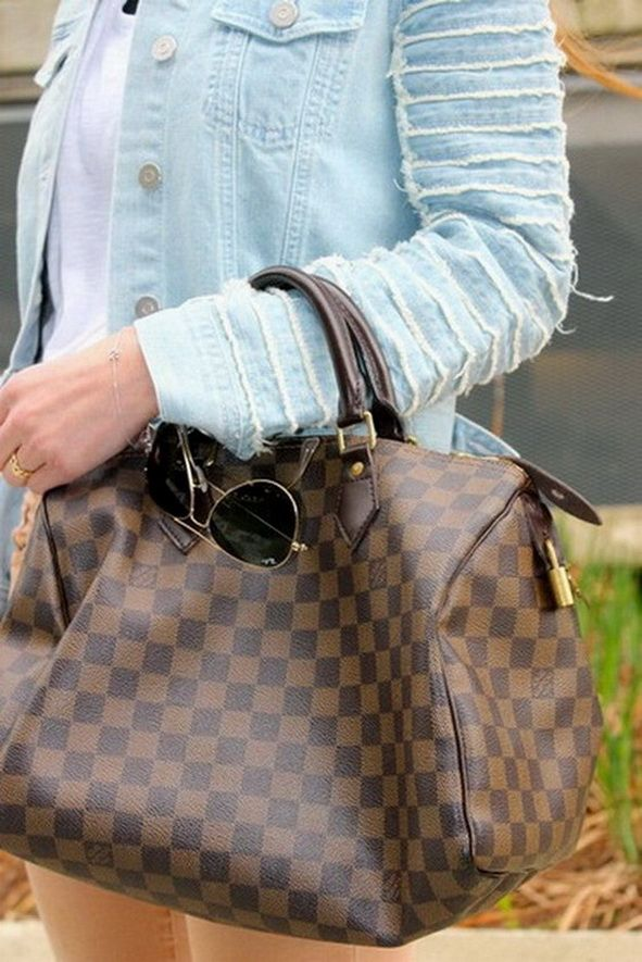Louis Vuitton speedy bag.