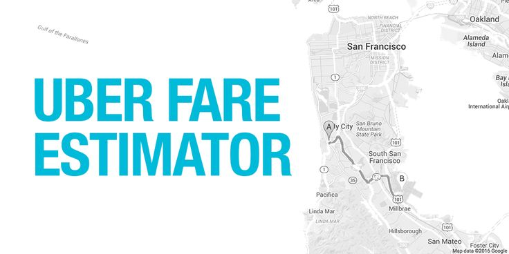 Estimate how much your Uber ride will cost with Uber Fare Estimator. Avoid SURGE and stay happy.