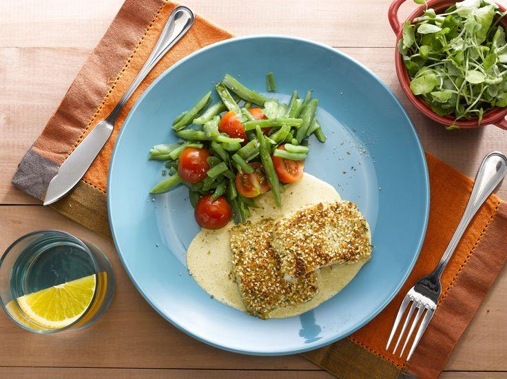 Una opción un poco más elaborada, puede ser una Reineta en crocante de sésamo y salsa de curry. Una receta fácil de preparar para compartir en familia.
