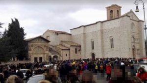 Terremoto, a Perugia scuole evacuate
